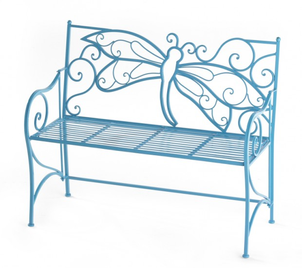 High Amp Low Dragonfly Garden Bench Lifestyles