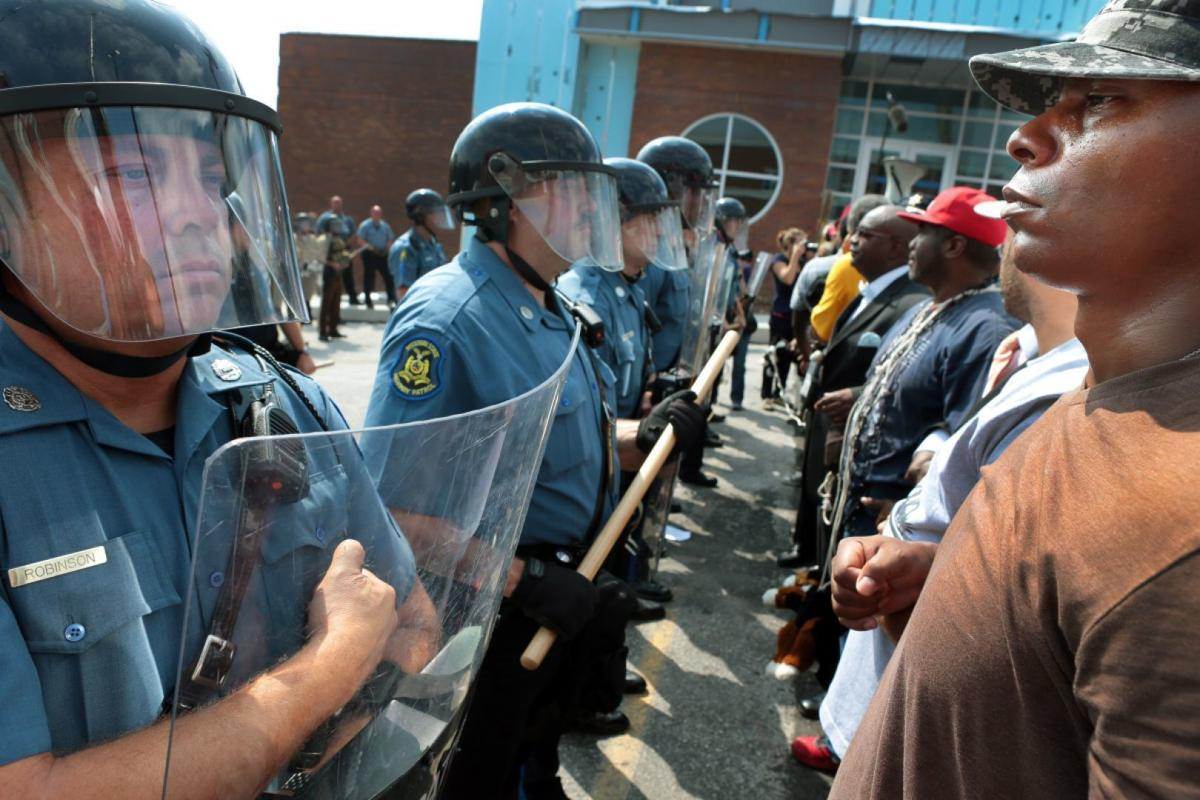 Confronting state troopers