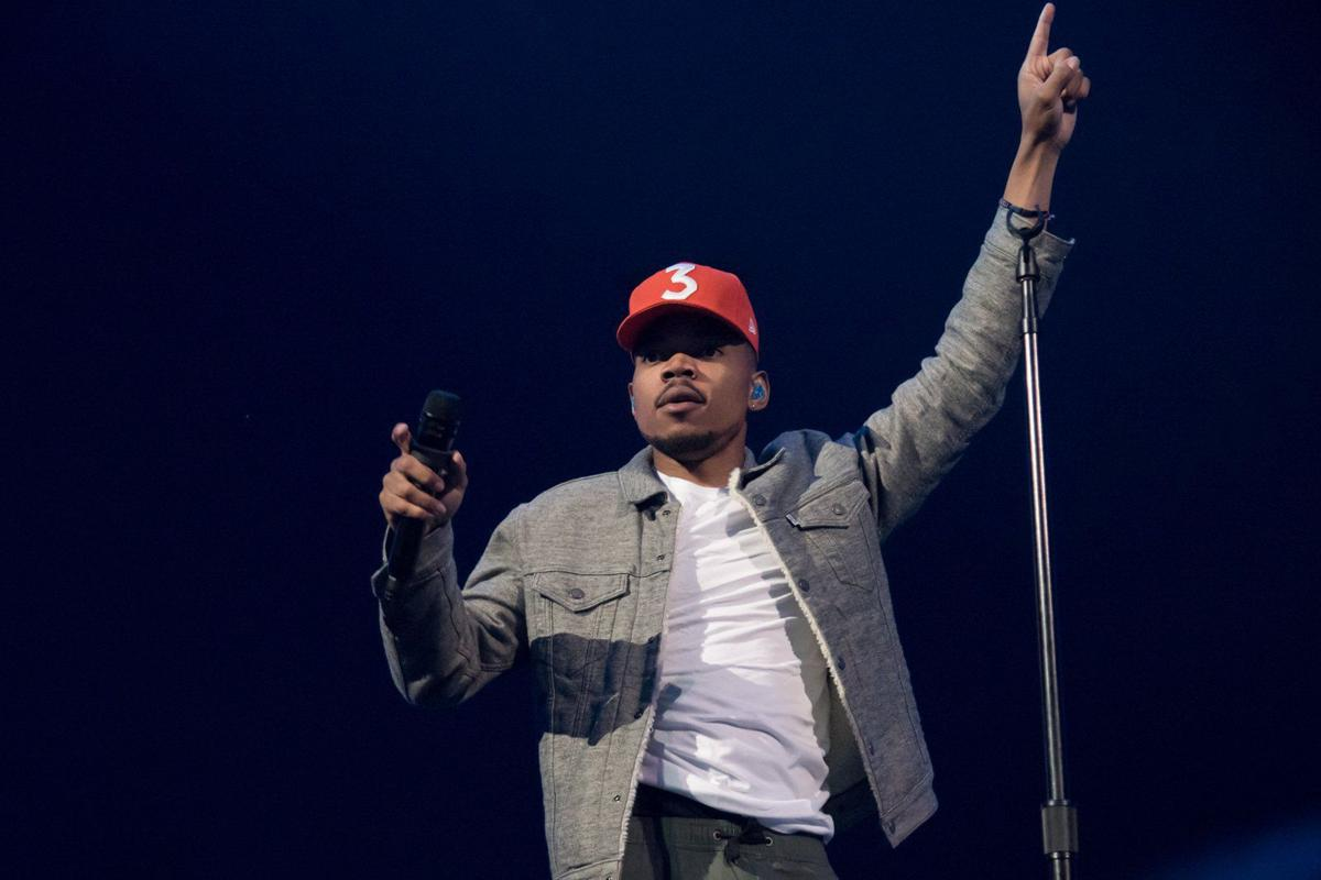 Chance the Rapper at Scottrade Center