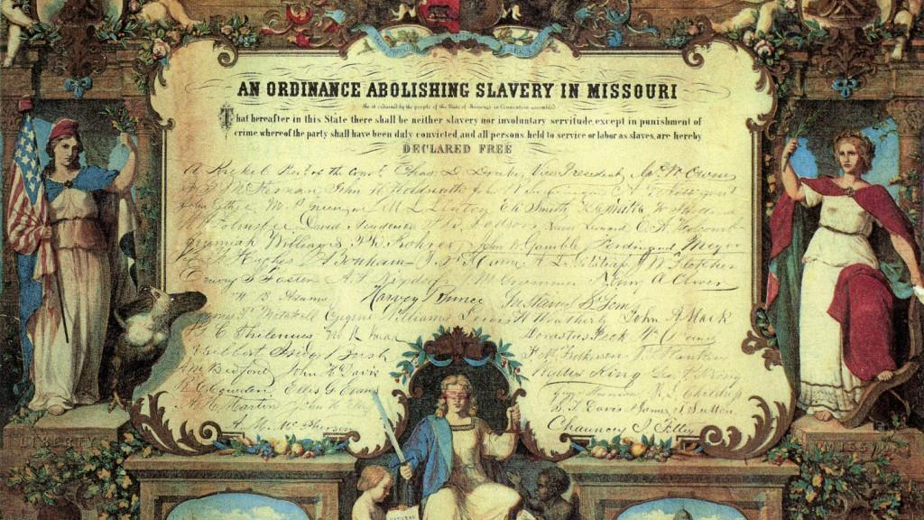 A Look Back • The day that Missouri finally freed its slaves