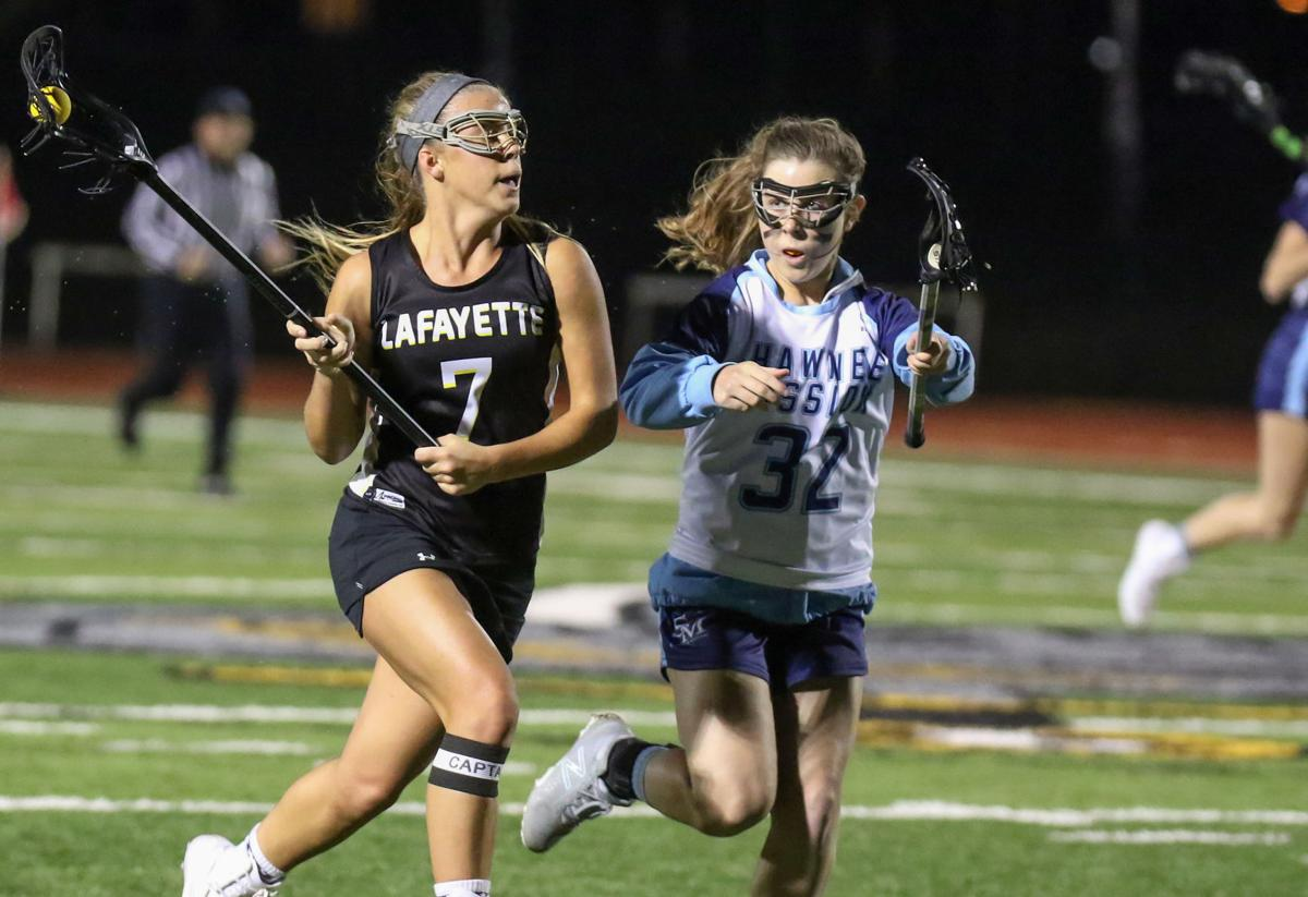 Lafayette vs. Shawnee Mission girls lacrosse