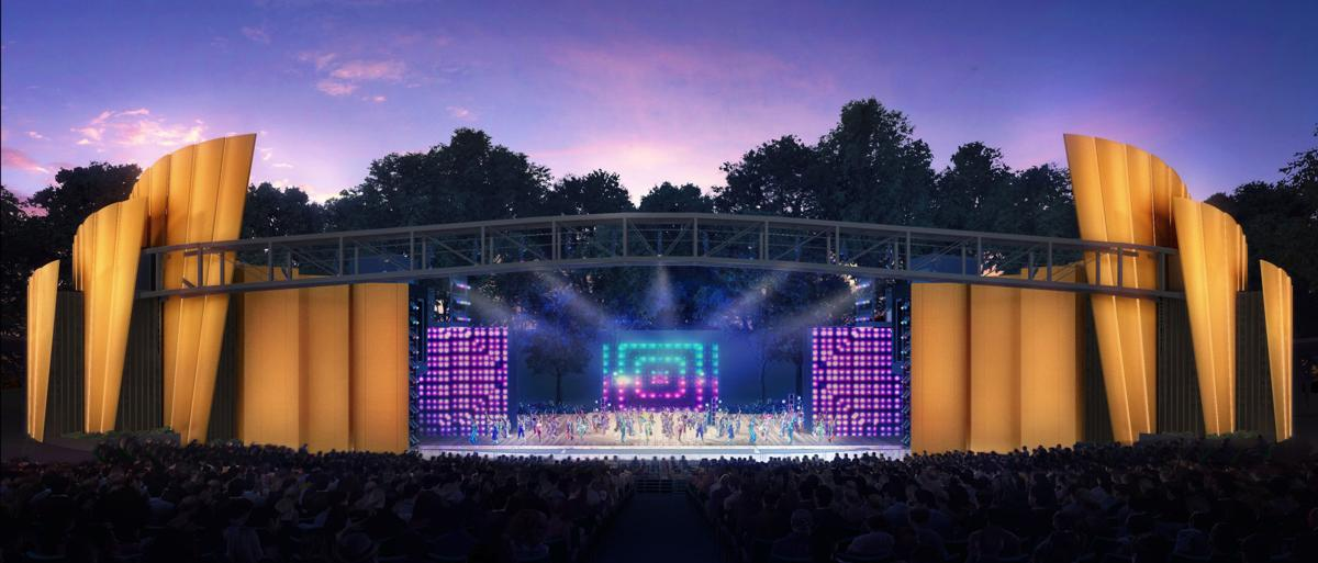 Putting Magic Of Theatrical Lighting To >> Better Magic Muny Will Spend Millions Overhauling Its Stage Other