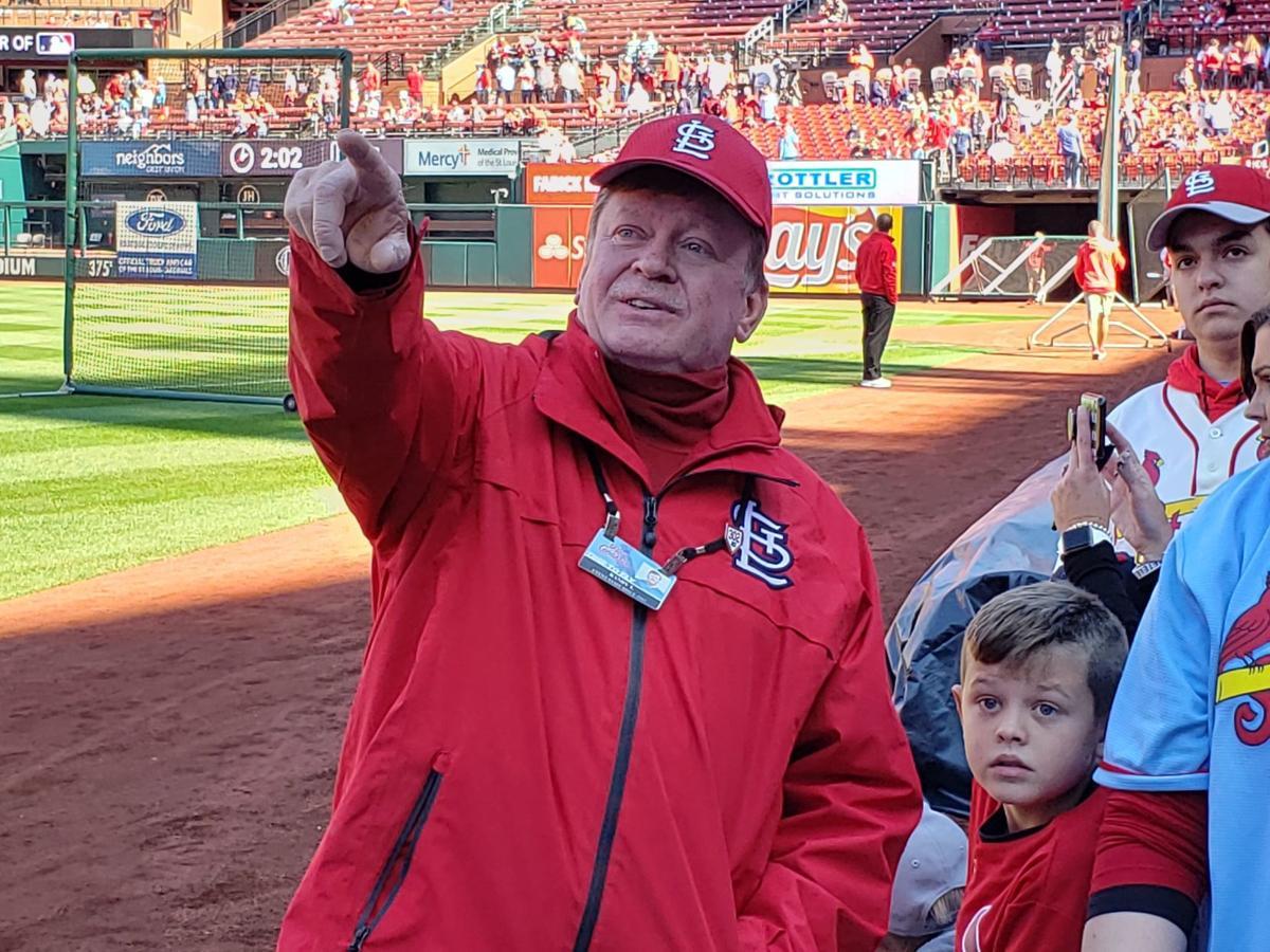 Cardinal usher Randy Thomas
