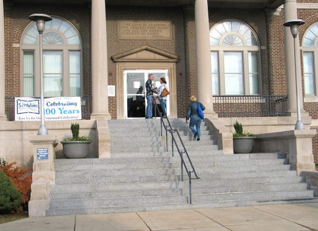 The District Has Received A $2.2 Million Grant From The Illinois State  Library To Renovate The 83 Year Old Building.