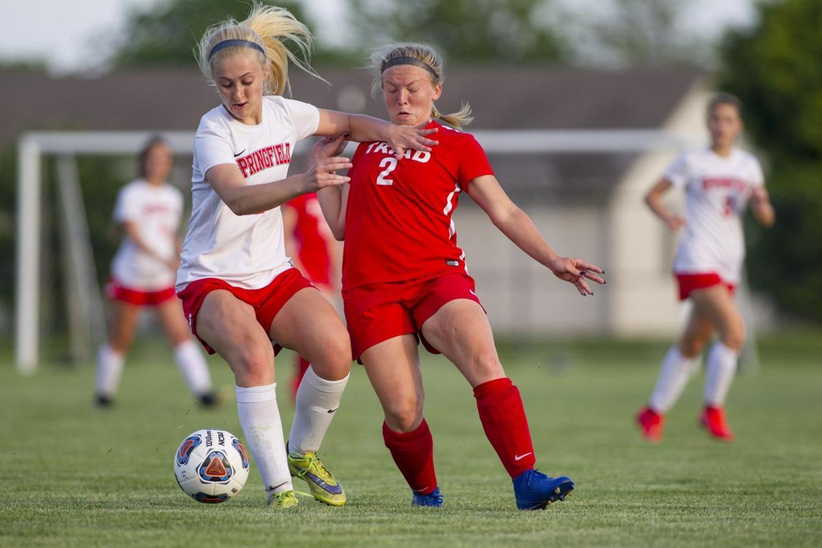 Triad vs. Springfield girls soccer