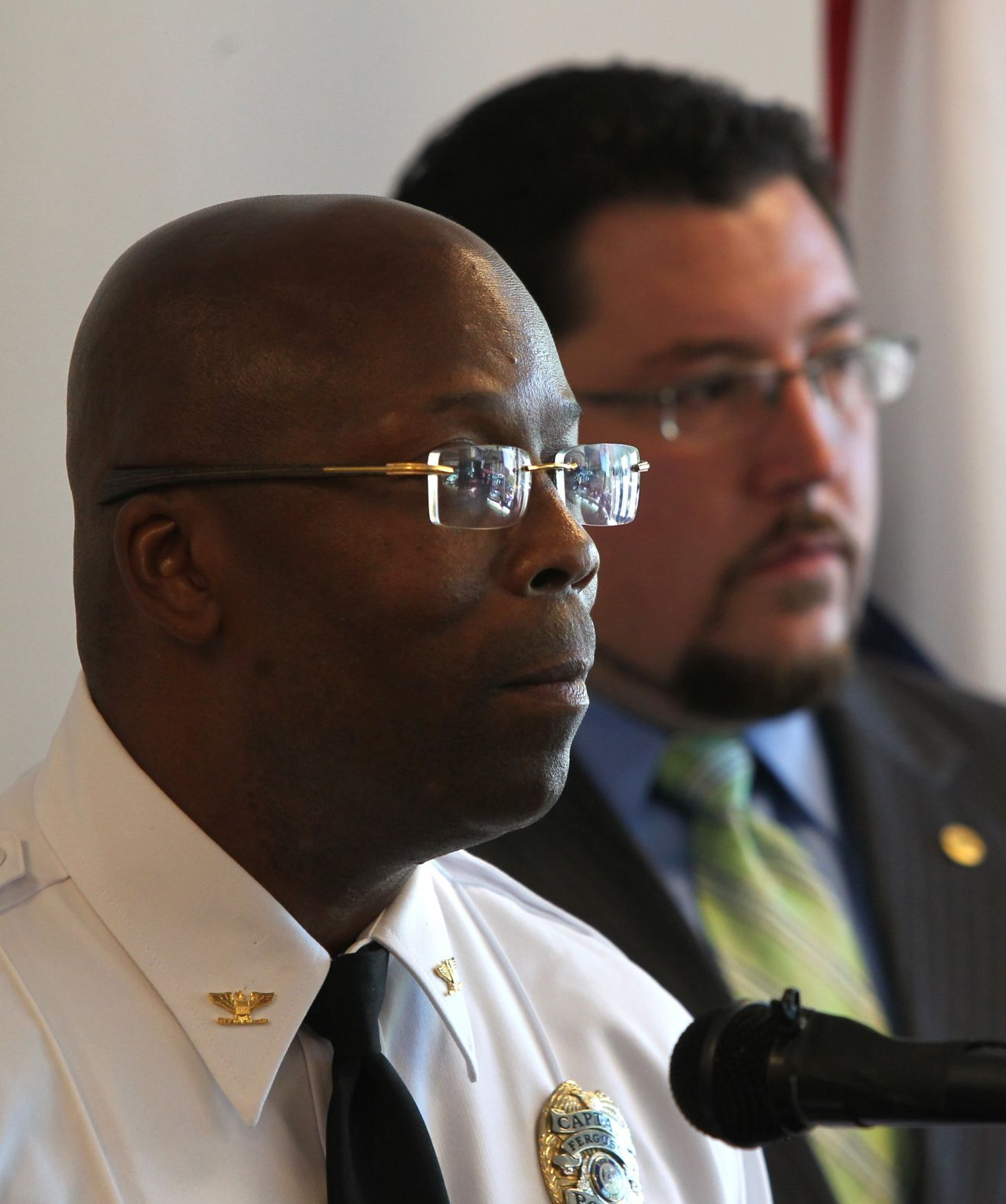 Ferguson names new interim police chief Ferguson