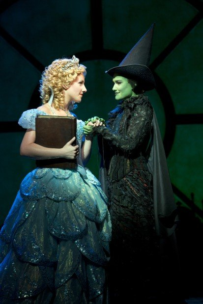 Jeanna de Waal (left) as Glinda and Christine Dwyer as Elphaba in the national tour of  Wicked  at the Fox Theatre Dec. 12 2012 through Jan. 6 2013.  sc 1 st  St. Louis Post-Dispatch & Elphaba and 7 other witches who deserve a second chance | Television ...