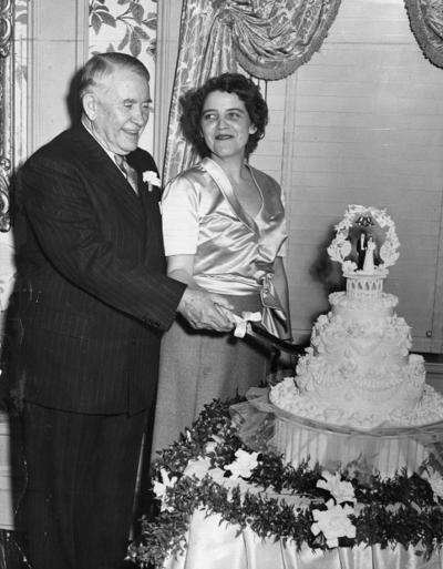 Look Back:  Jane Hadley marries the vice-president