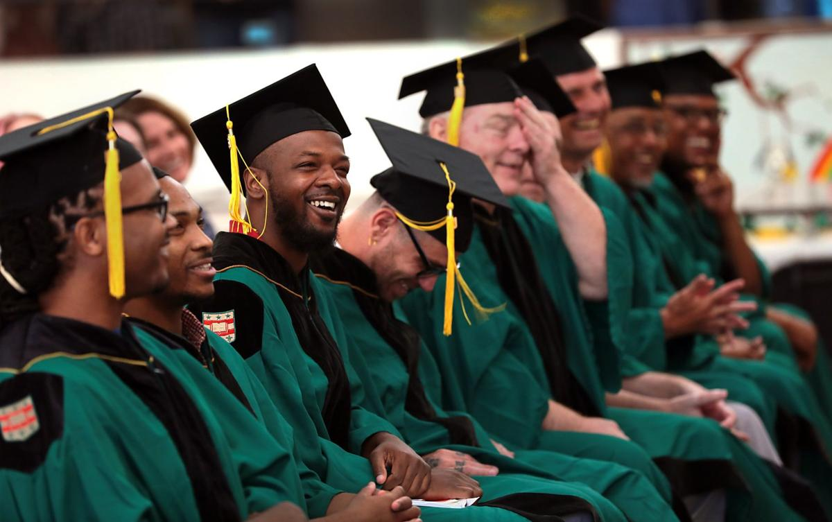 Washington University graduates its first class of students in prison