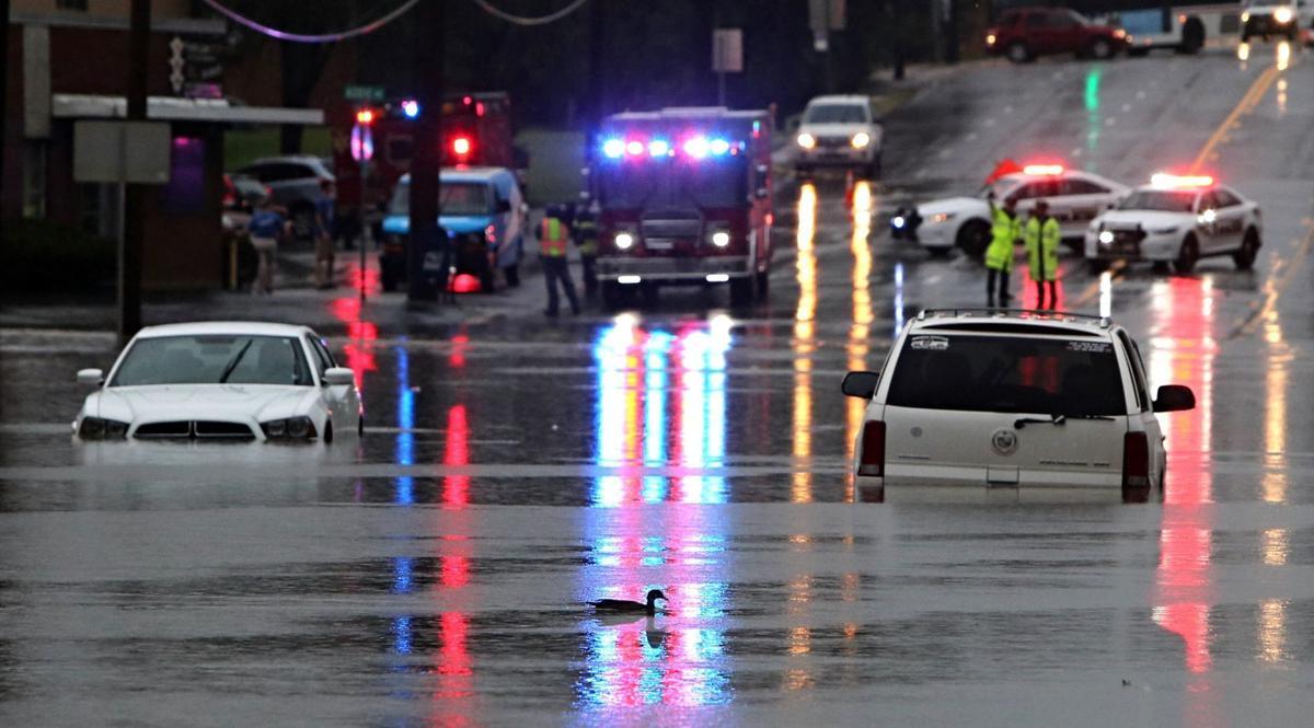 Flooding on Hanley