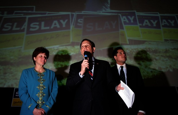 Slay victory party
