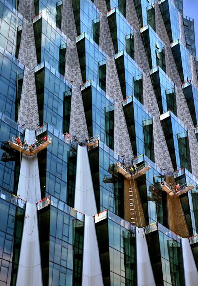 One Hundred takes shape in the Central West End