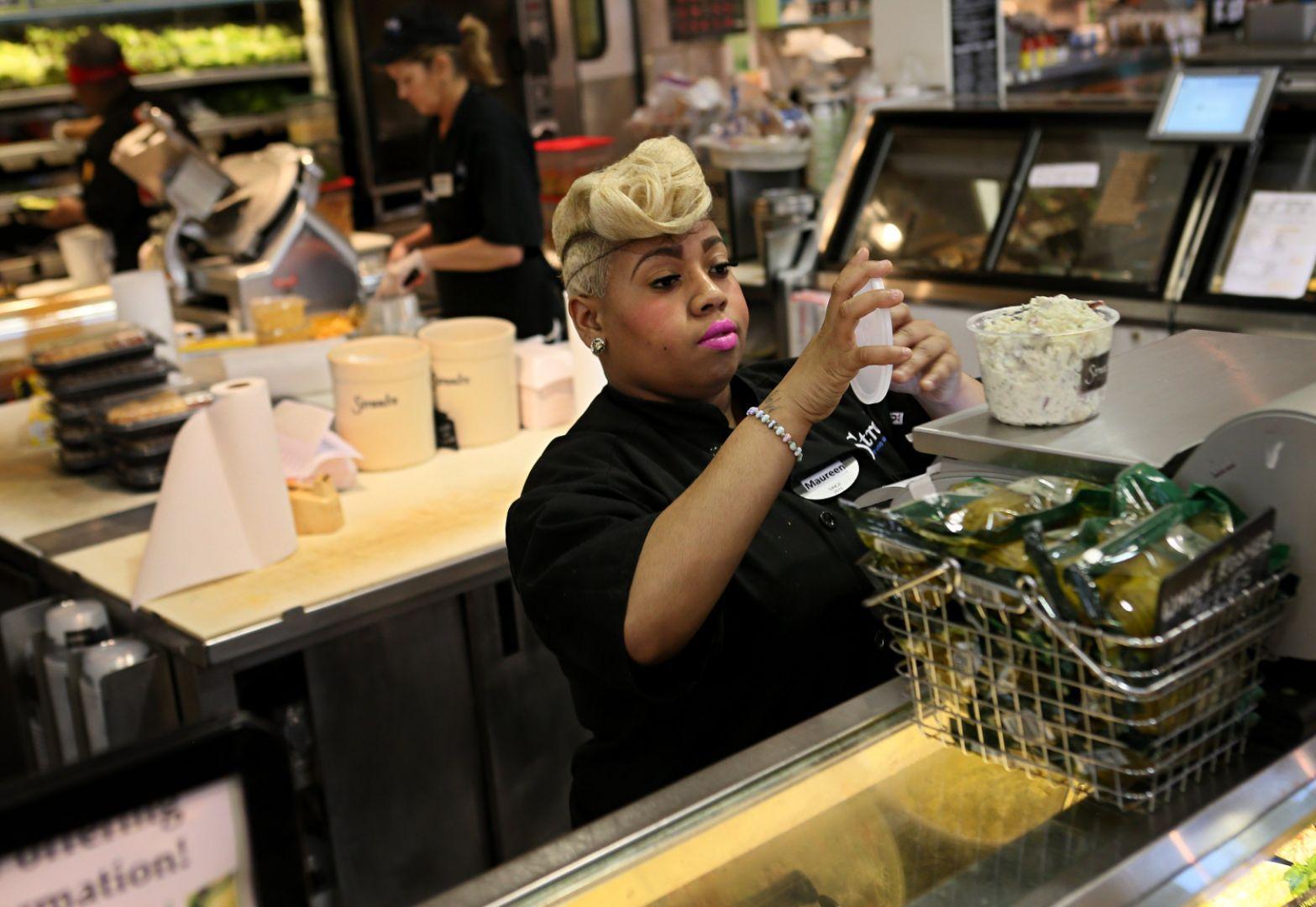 customer service job description%0A Worker u    s pay rising