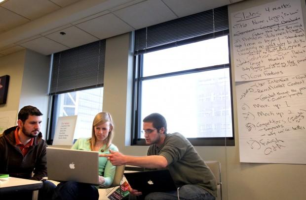 Startup weekend sets busy minds afire