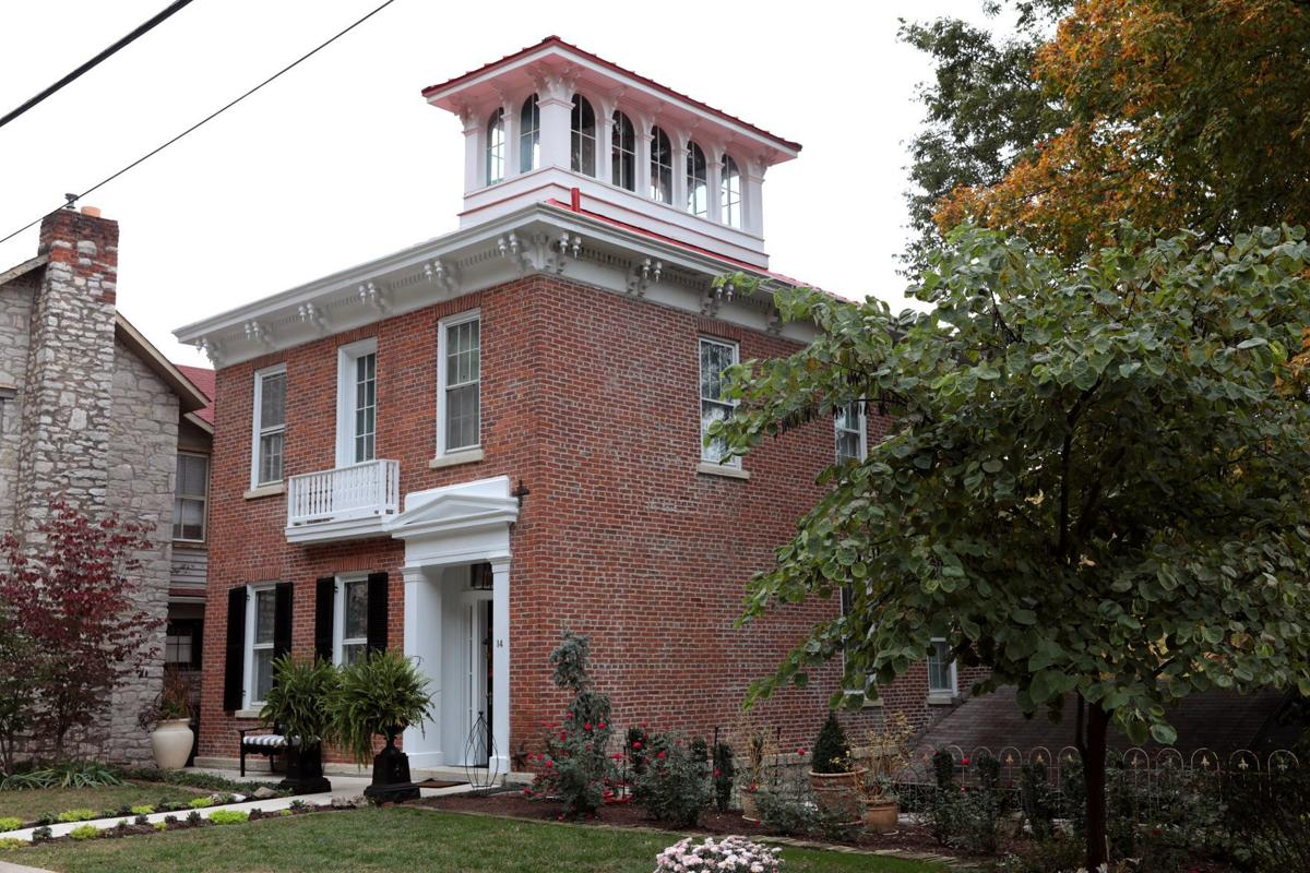 At Home: A historic home in Elsah, Ill.
