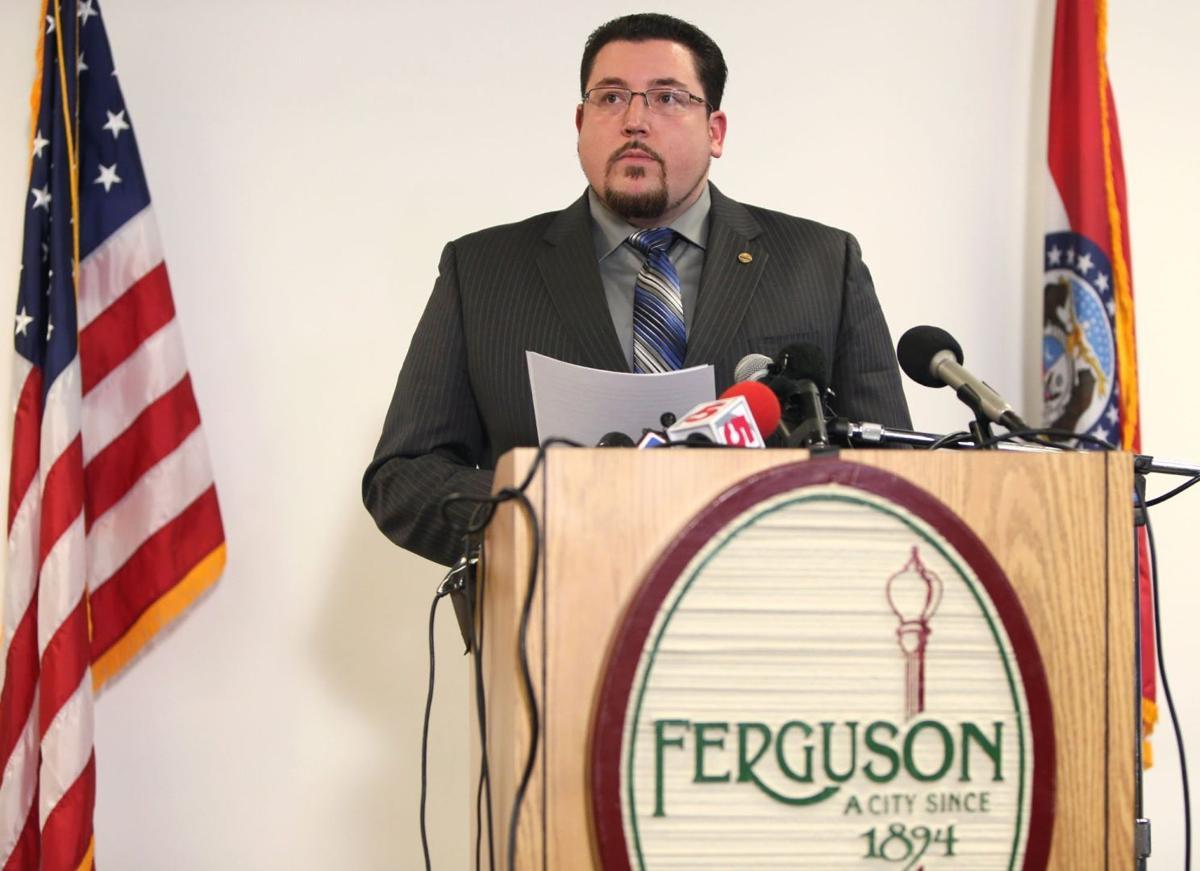 Ferguson Mayor James Knowles addresses media