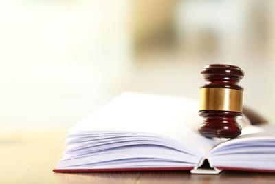 Criminal justice Gavel Law book xcenterpiece