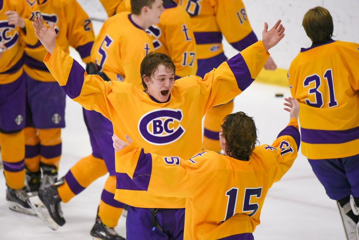 03/06/2021 - ice hockey - Marquette vs CBC