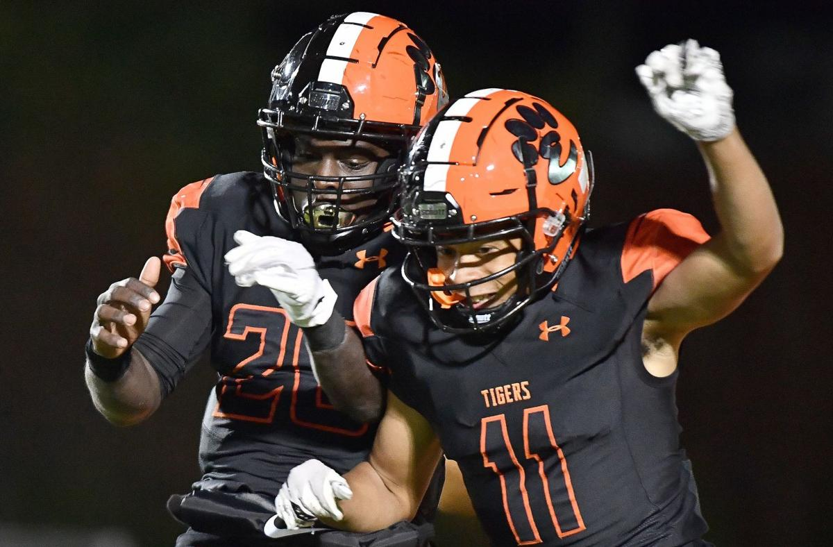 St. Charles East at Edwardsville Class 8A football first-round playoff game