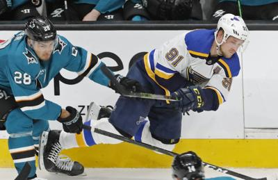 Blues and Sharks square off in third round