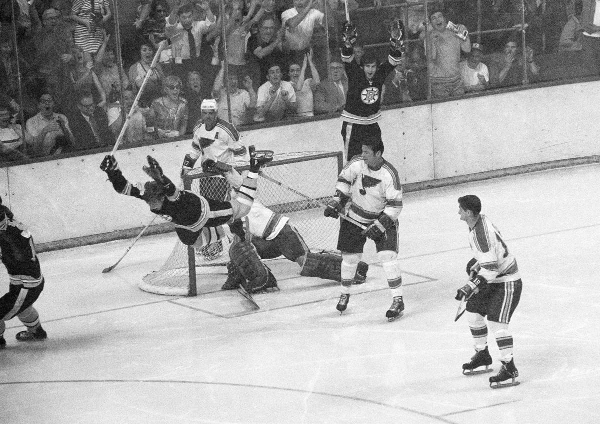 Stanley Cup Playoffs Bruins Blues Bobby Orr 1970