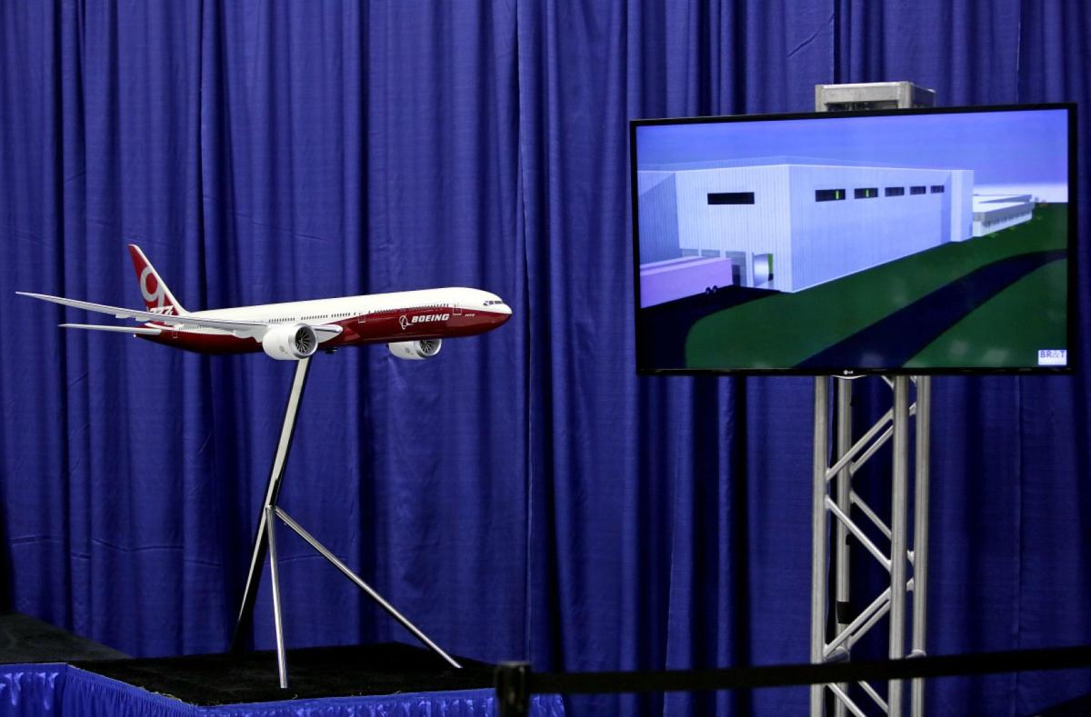 Groundbreaking for new facility to build composites for Boeing 777x