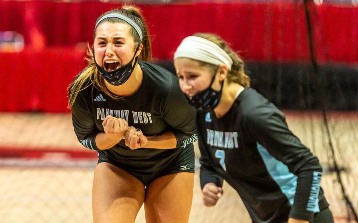 Parkway West vs. Platte County volleyball