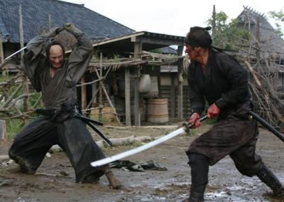 Samurai sword fights lead to a bloody good finale in '13