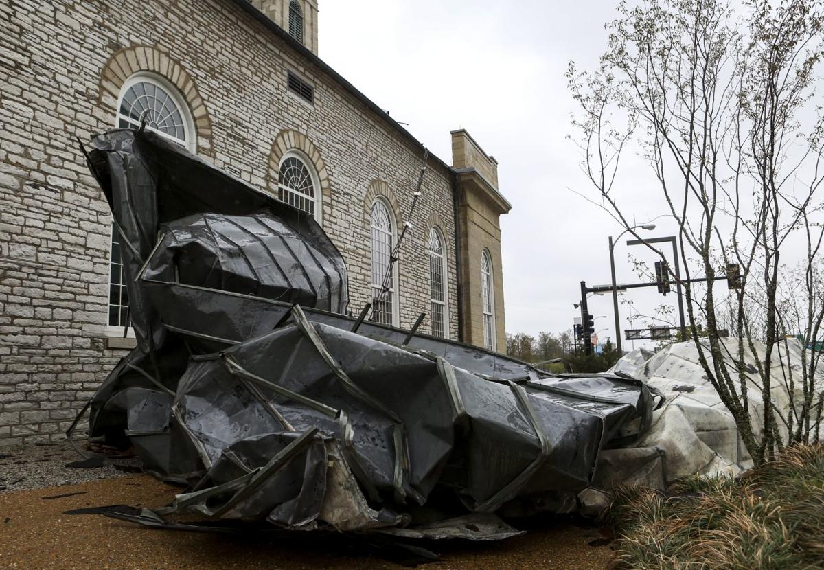 Wind Damage at the Old Cathedral