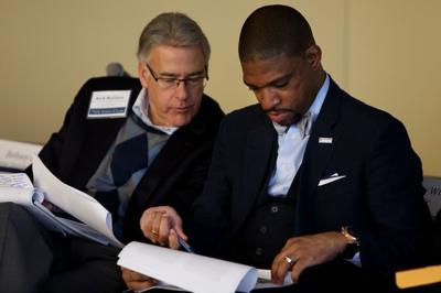 Ferguson Commission meeting