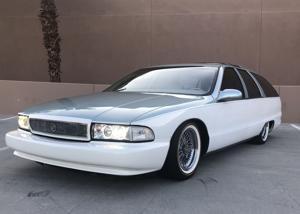 Custom '91 Buick Roadmaster Estate Wagon: Long on looks, short on power.
