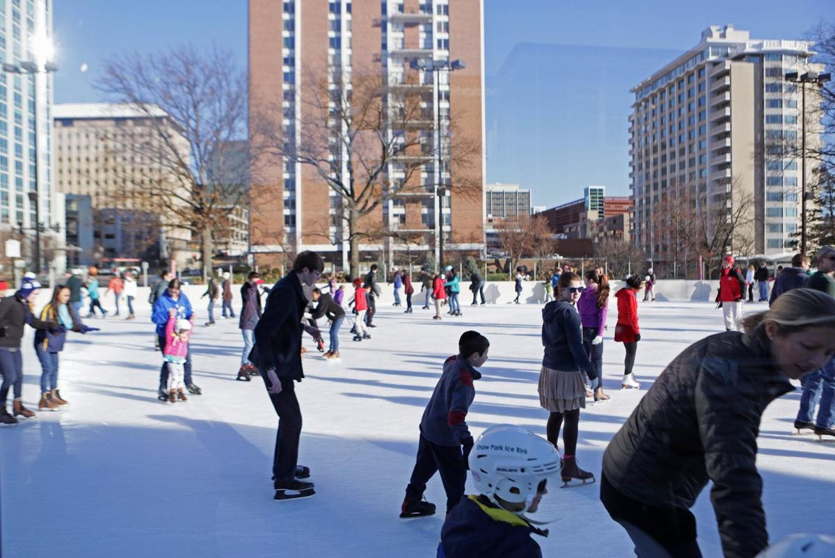 synthetic ice rink to open for a short season in downtown st