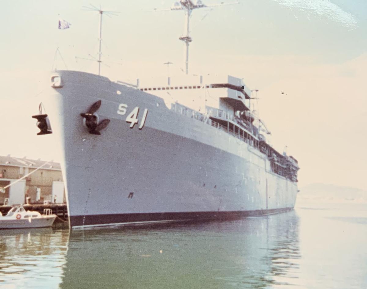 SOH Shelley Cade - USS McKee