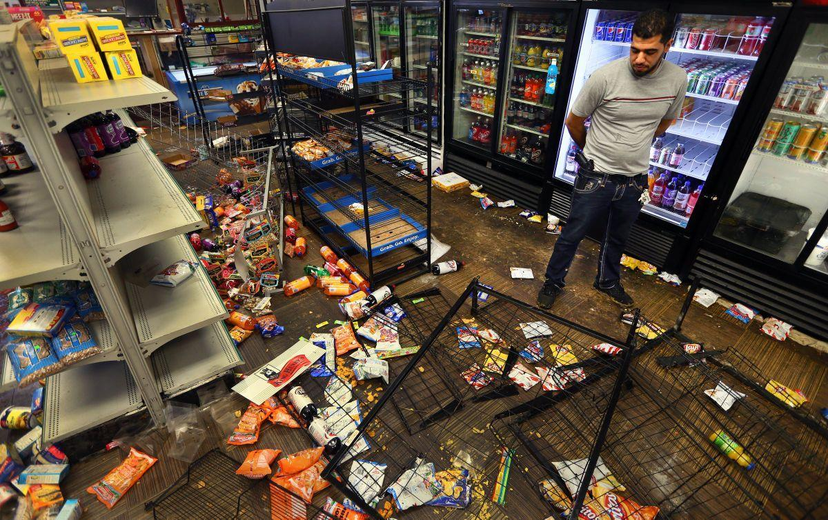 Market looted in Fountain Park