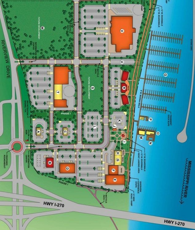Site plan for proposed Lighthouse Saint Louis