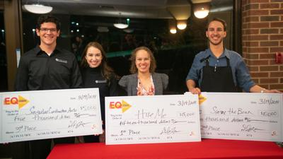 UMSL Entrepreneur Quest winners