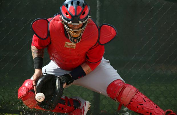 Peralta Yadi And Cardinals Pitchers St Louis Cardinals