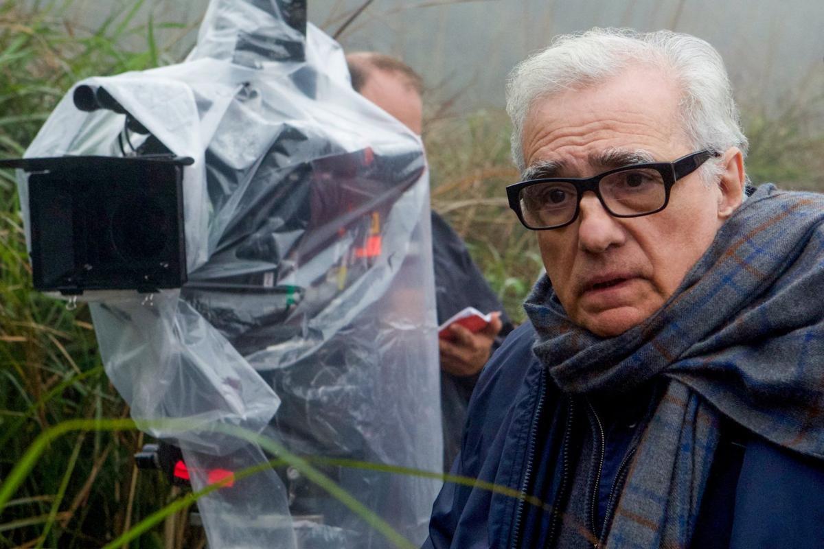 8c94aaeb7b4a9 Director Martin Scorsese embraces the  Silence