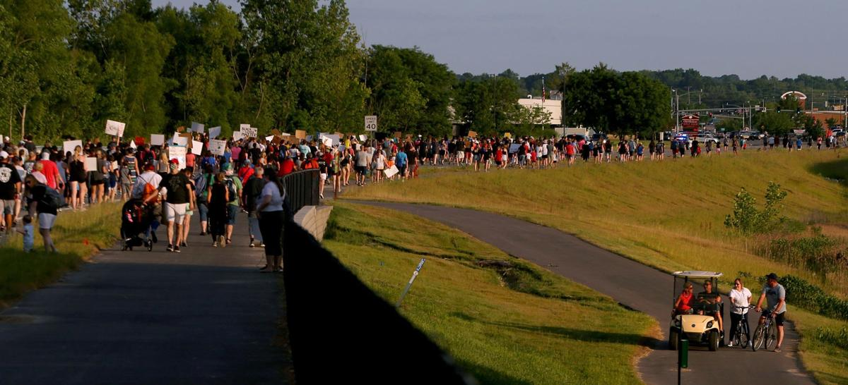 Francis Howell District educators hold Black Lives Matter March and Rally
