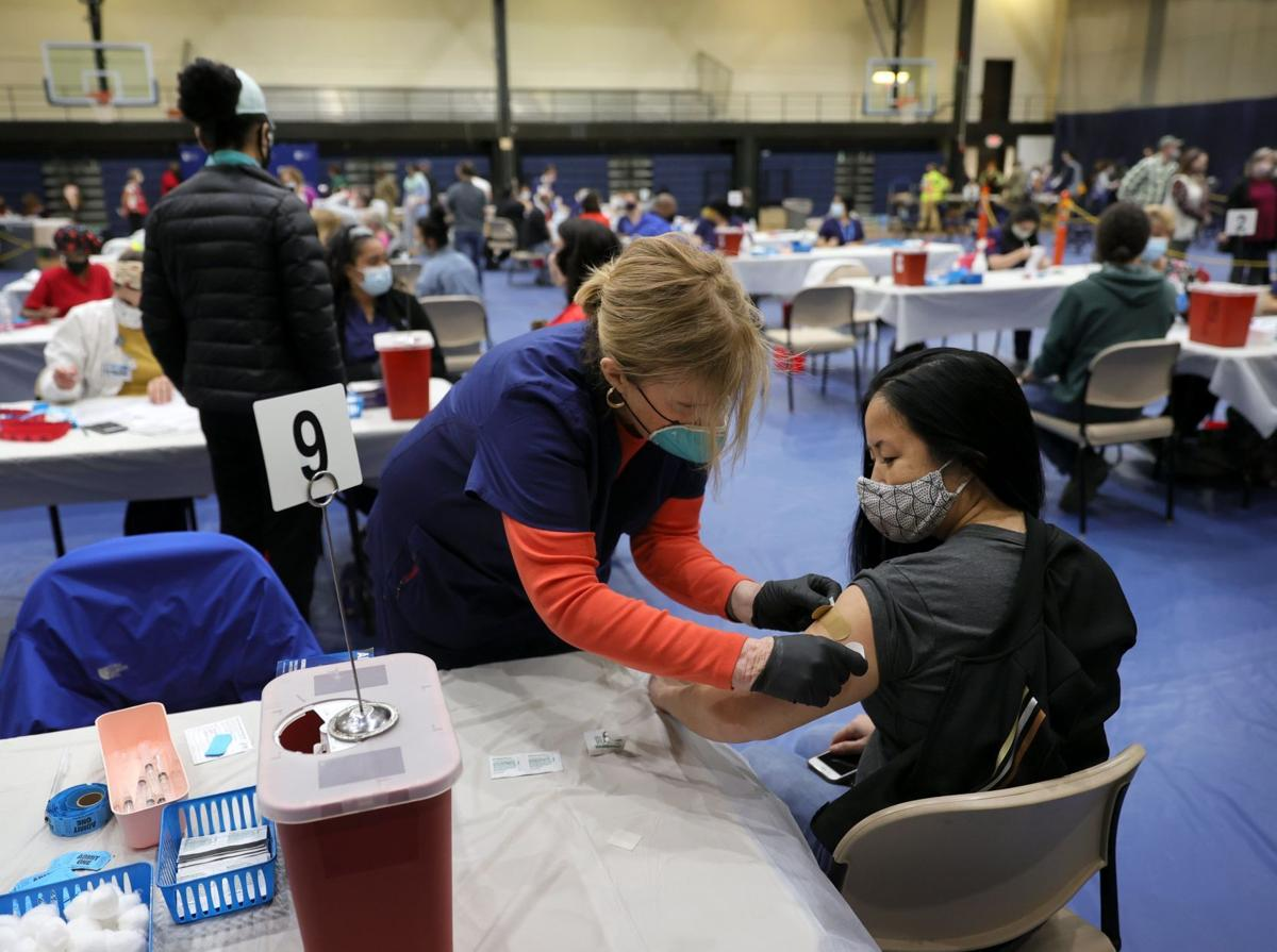 St. Louis holds 2-day mass vaccination event with Johnson & Johnson vaccine