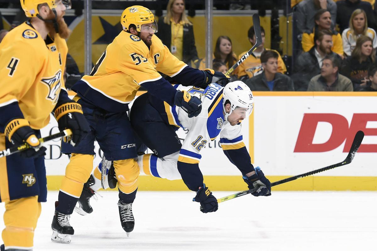 Blues Predators Hockey