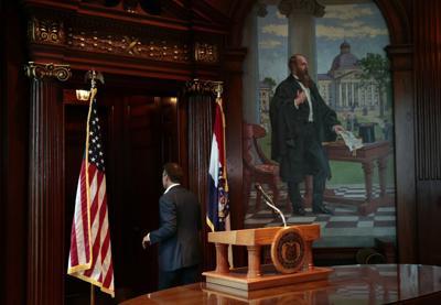 Missouri Gov. Eric Greitens resigns