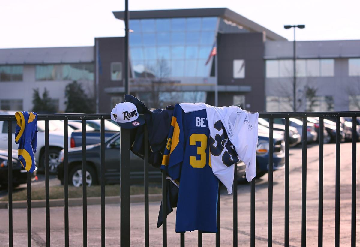 Rams Park after St. Louis Rams announce they're leaving