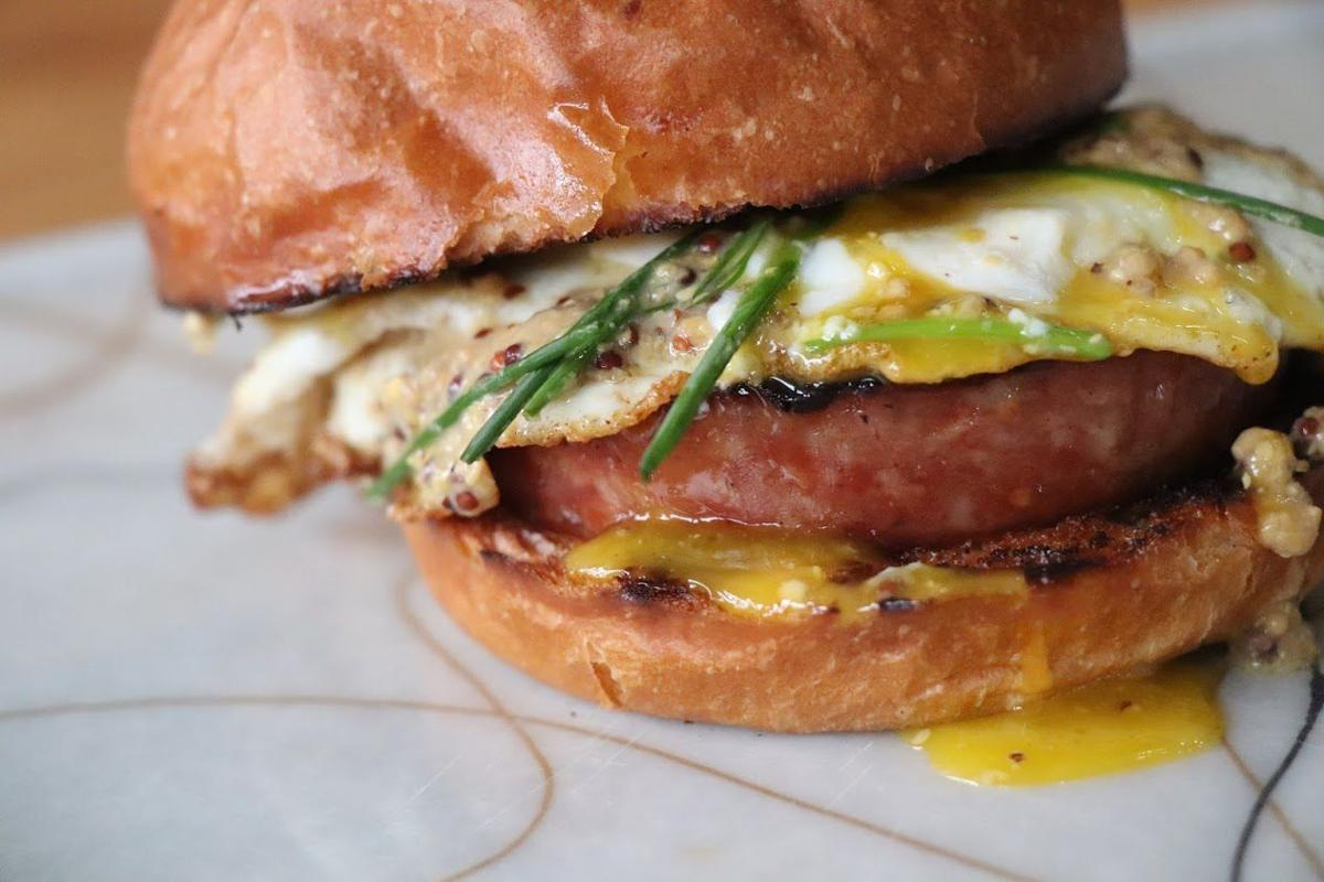 Fried bologna sandwich from Grace Meat + Three (copy)