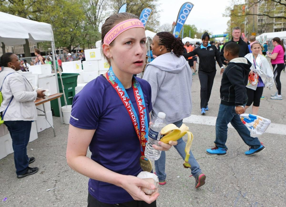 Go runners crossed the Mississippi River twice