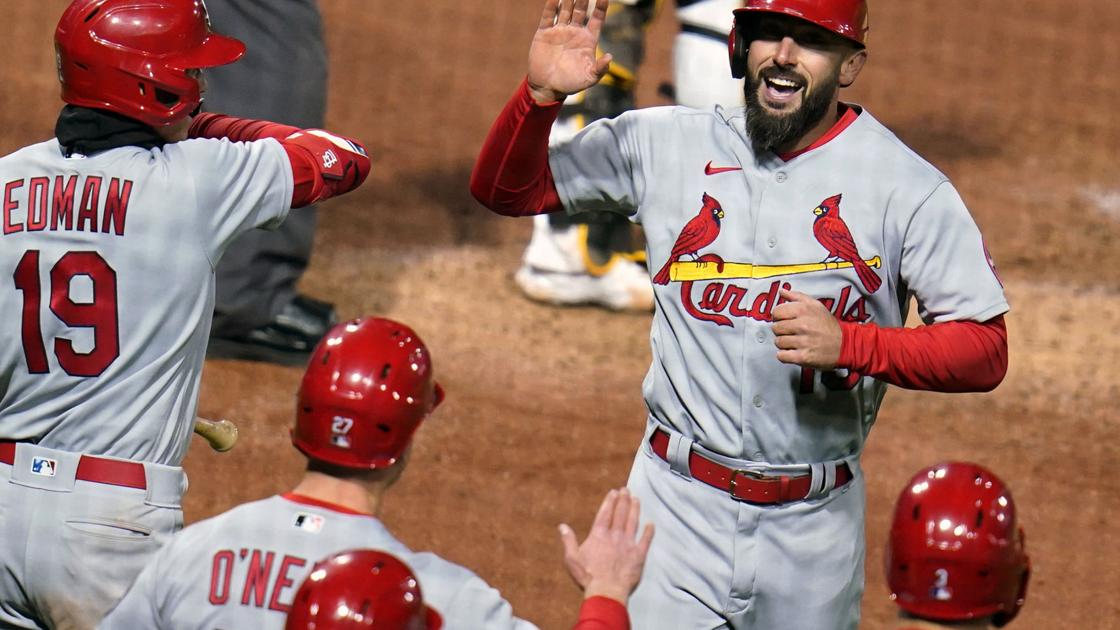 Cardinals lefty Cabrera rebounds with two flawless innings, holds lead from Carpenter's homer in 7-3 victory