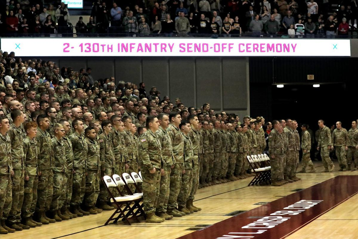 2nd Battalion, 130th Infantry mobilitzation ceremony