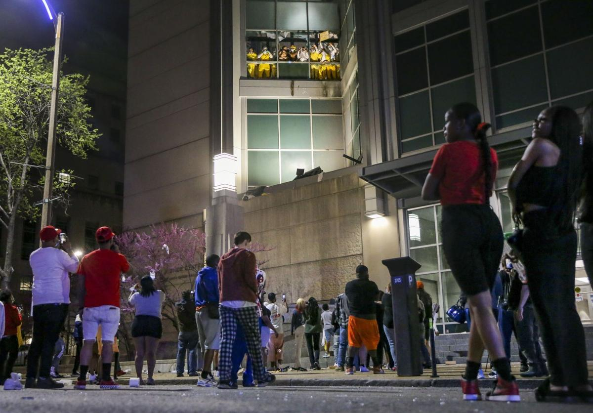 St. Louis City Justice Center Easter Sunday Incident