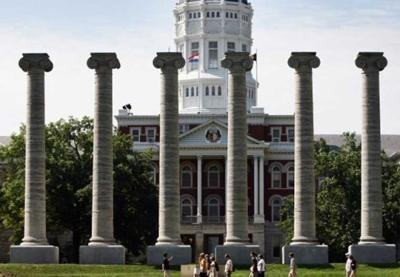 Columns at University of Missouri campus