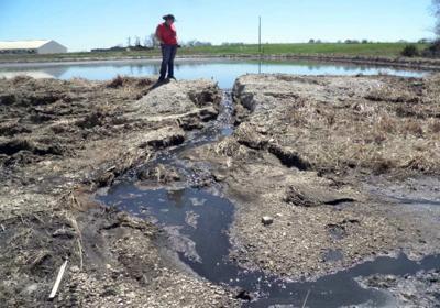 Clear Creek Farm lagoon breach
